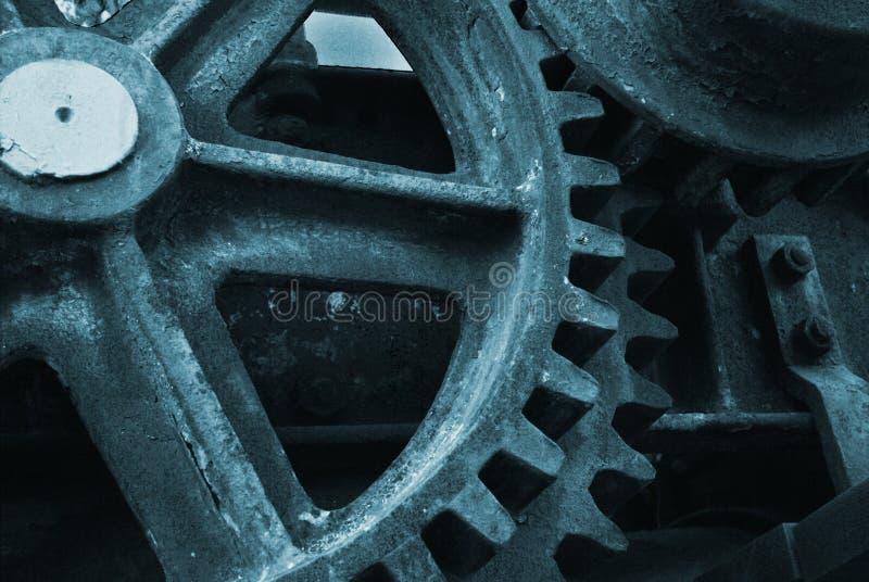 齿轮 免版税图库摄影