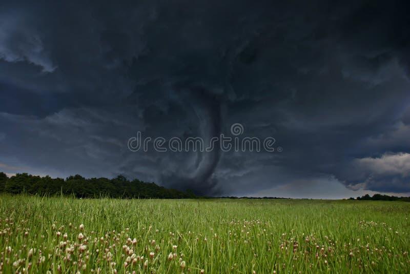 龙卷风 库存照片