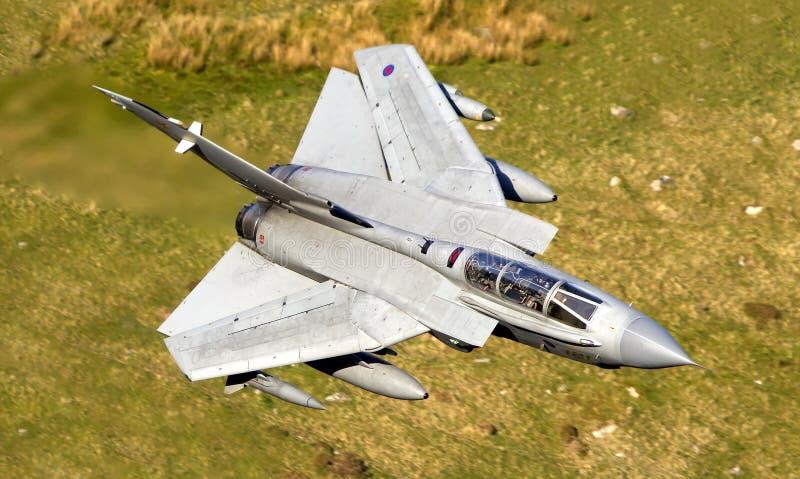 龙卷风Gr4喷气式歼击机 库存图片