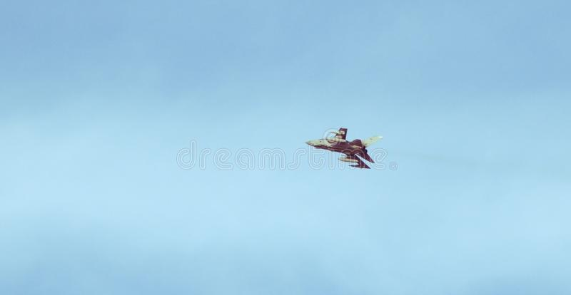 龙卷风GR4皇家空军喷气式歼击机 免版税库存图片