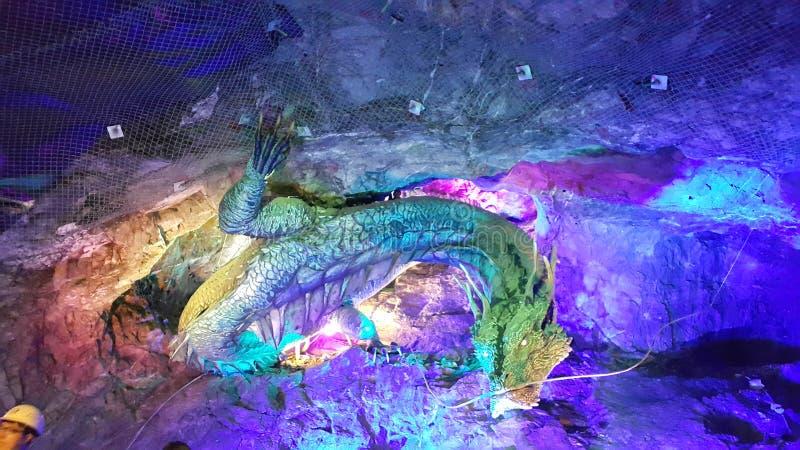 龙在韩国 图库摄影