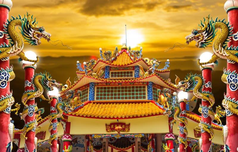 龙宫殿 免版税库存图片
