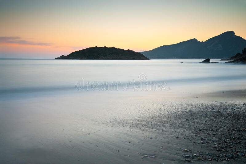 龙海岛majorca 图库摄影