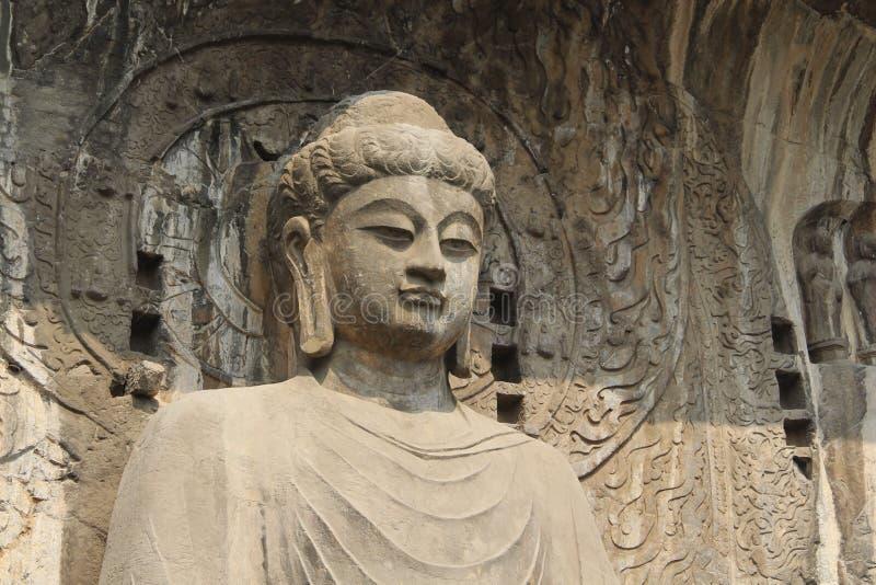 龙门石窟在洛阳,河南,中国公园 库存图片