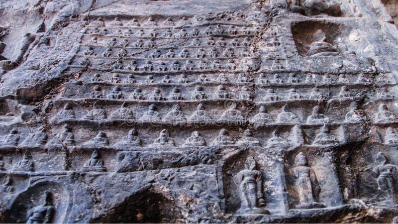 龙门石窟,佛教,洛阳,河南Provinceï ¼ ŒAsiaï ¼ ŒChina 免版税图库摄影