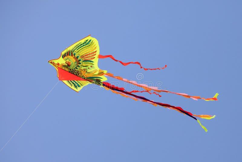 龙风筝 库存照片