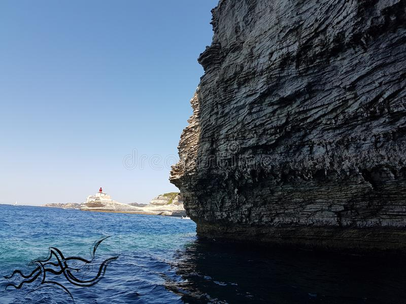 ? eXploration| Corse - Corse (Sud ) | ???? Nature/Ville image libre de droits