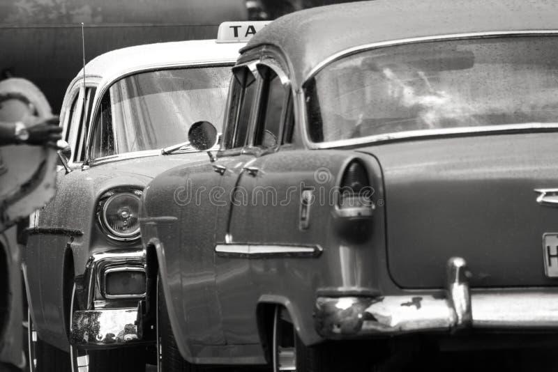 11/03/2015,哈瓦那,古巴:老美国汽车站立面孔highl 图库摄影