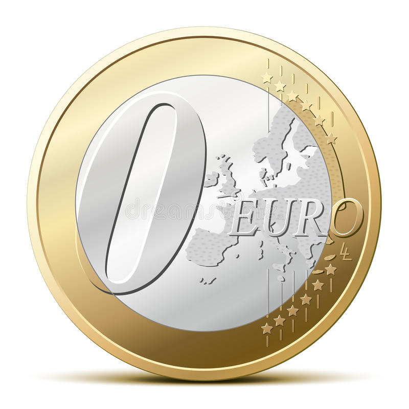 0 Euro coin. Zero euro coin, for a free item