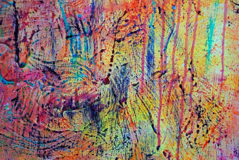 0006 grunge farbę. obrazy stock