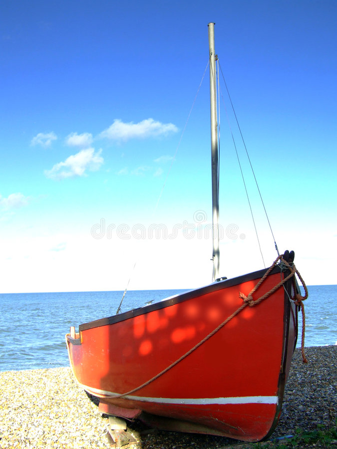002小船 库存图片