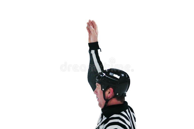 002 должностного лица хоккея стоковые фото