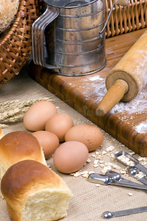 002 серии делать хлеба стоковое фото rf