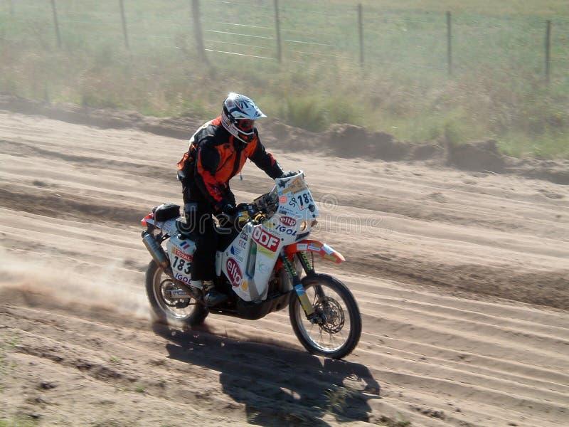 002 2009年阿根廷智利达喀尔 库存图片
