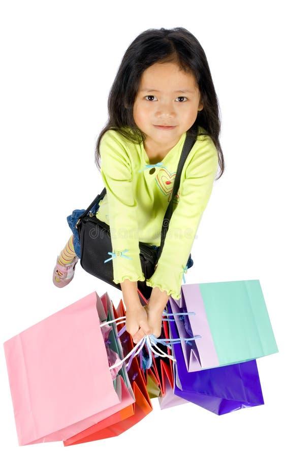 002 som shoppar arkivbilder