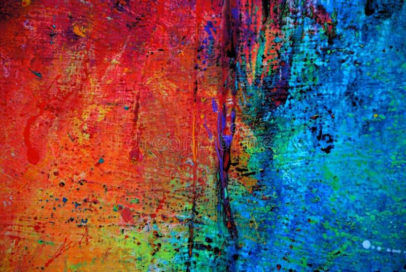 0022 grunge油漆 免版税库存图片