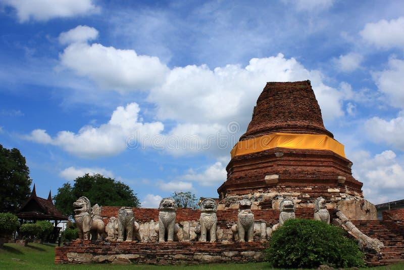 003 ayutthaya thailand royaltyfria bilder
