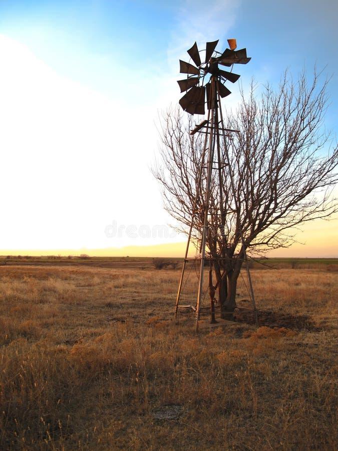 0093 łamany wiatraczek obraz stock