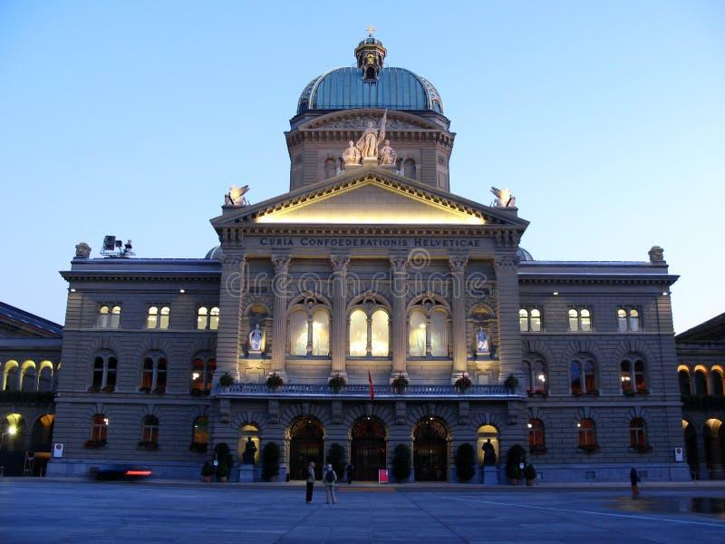 01个伯尔尼议会瑞士瑞士 库存图片