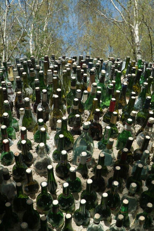 01个瓶 免版税库存图片