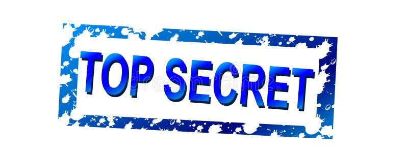 01个秘密顶层 向量例证