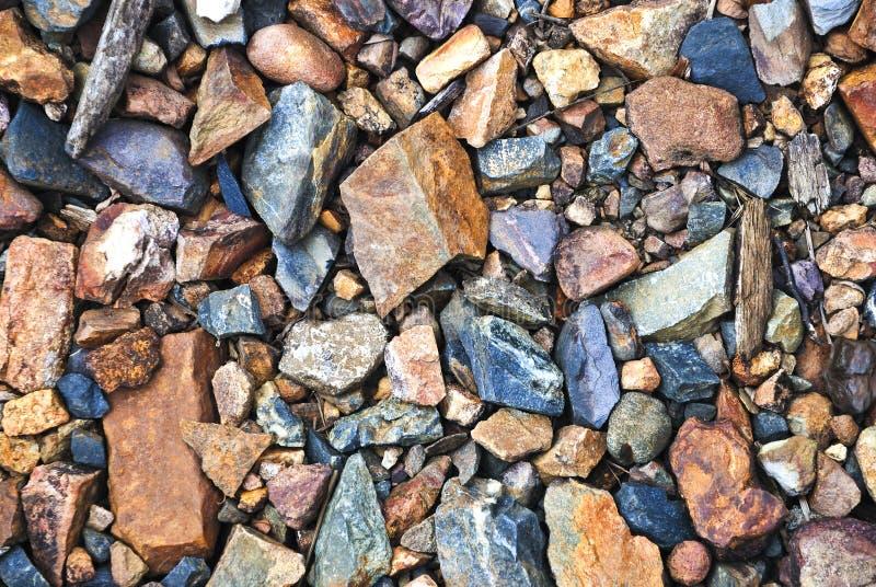 01五颜六色的石头 免版税库存图片