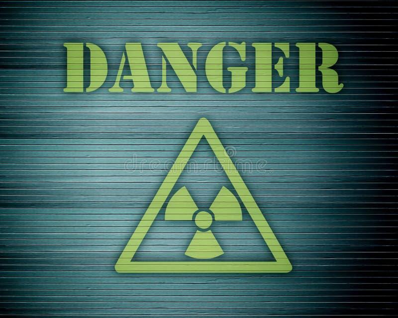 01危险 向量例证