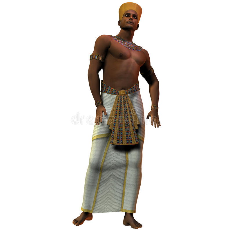 01埃及人人 向量例证