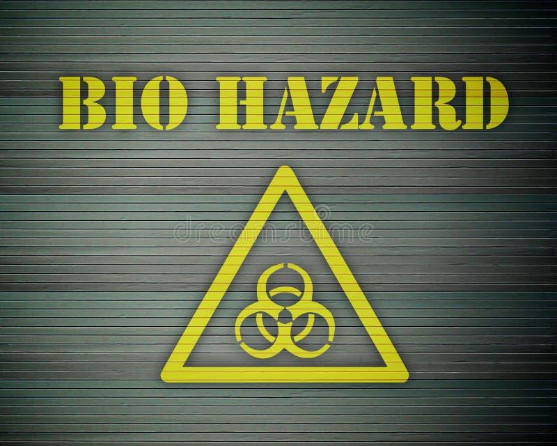 01生物危险等级 库存例证