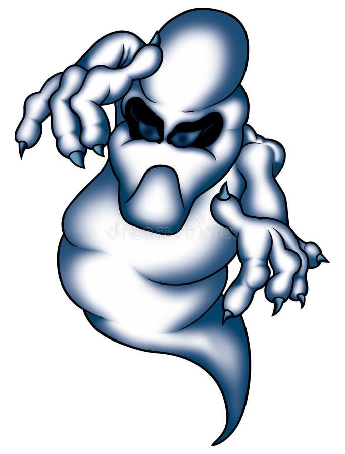 01鬼魂 向量例证