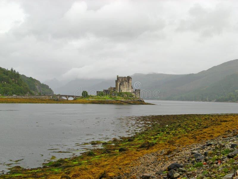 01 écossais des montagnes de château photographie stock
