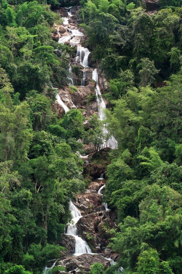 01 водопад Таиланда стоковое фото rf