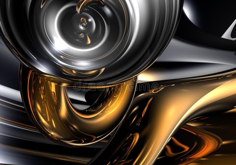01 abstrakcyjna ciemnej przestrzeni ilustracji