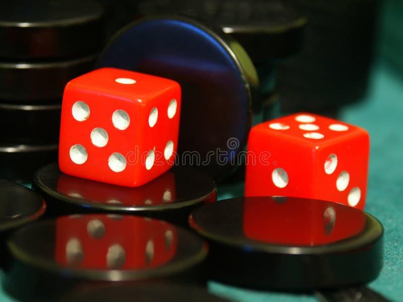 01 backgammon fotografia royalty free