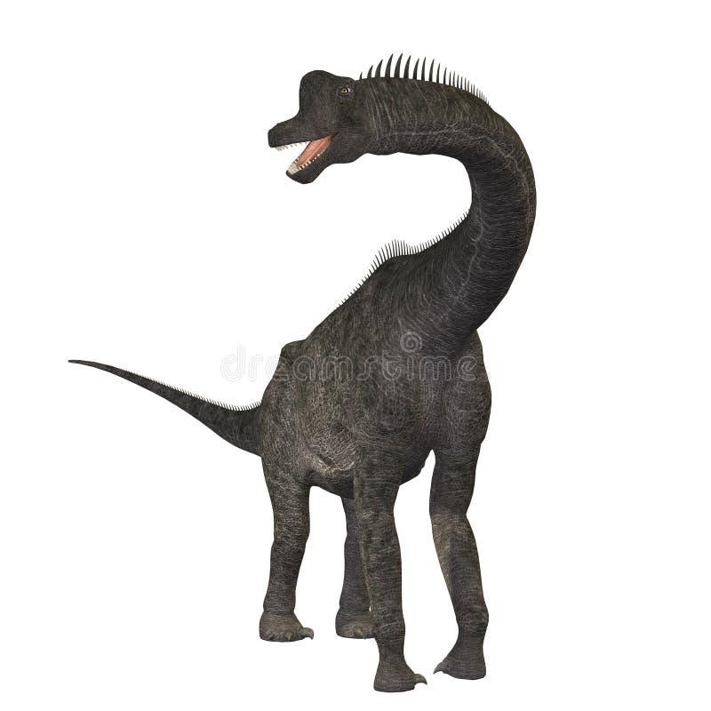 01 brachiosaurus ilustracja wektor