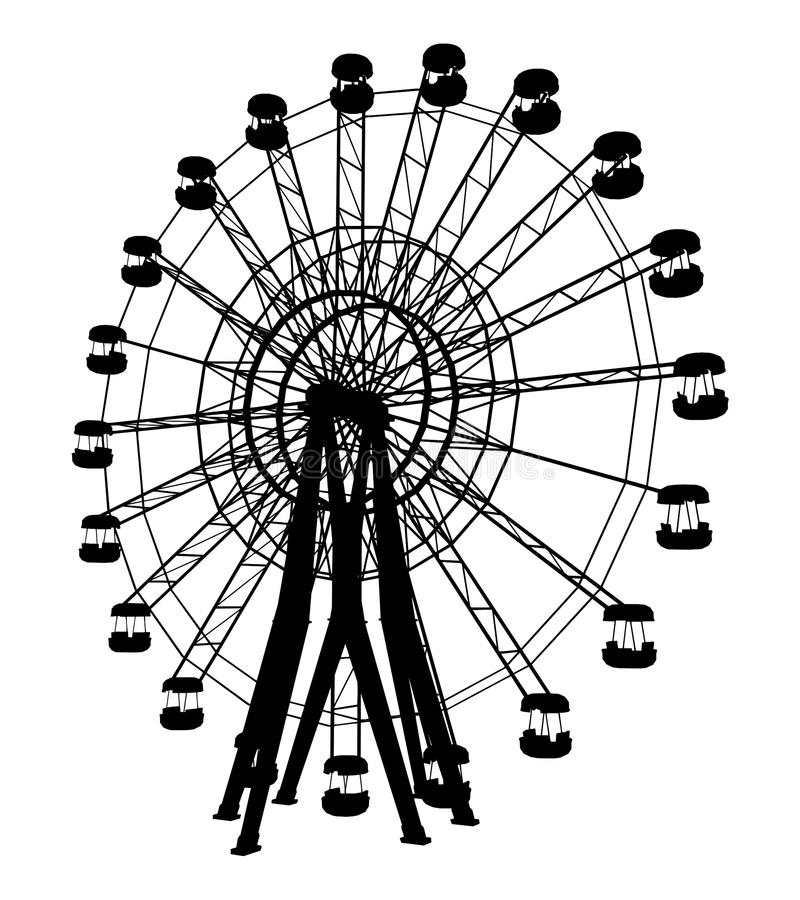01 carousel wektor royalty ilustracja