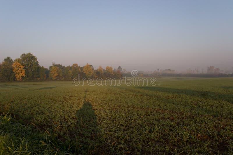 01 charakteru oshawa wschód słońca obrazy stock