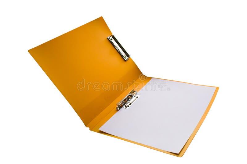 01 folder obraz stock