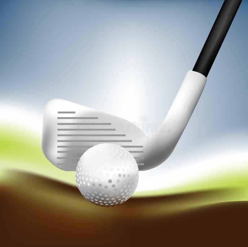 Download 01 golf ilustracja wektor. Obraz złożonej z pomysł, niebo - 6065273