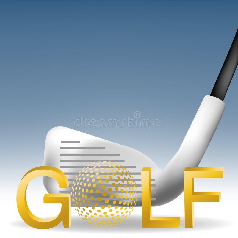 01 golf ilustracji