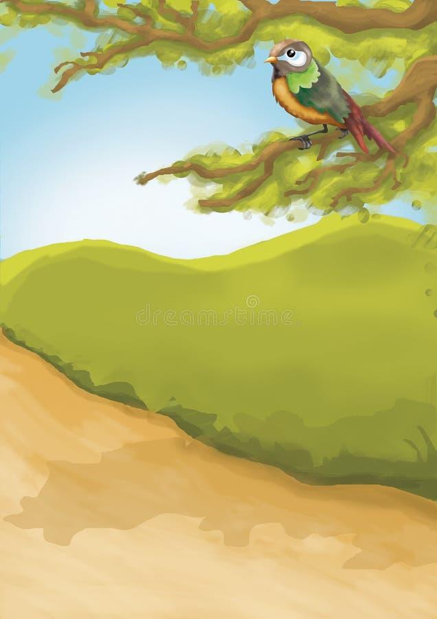 01 illustrationungar stock illustrationer