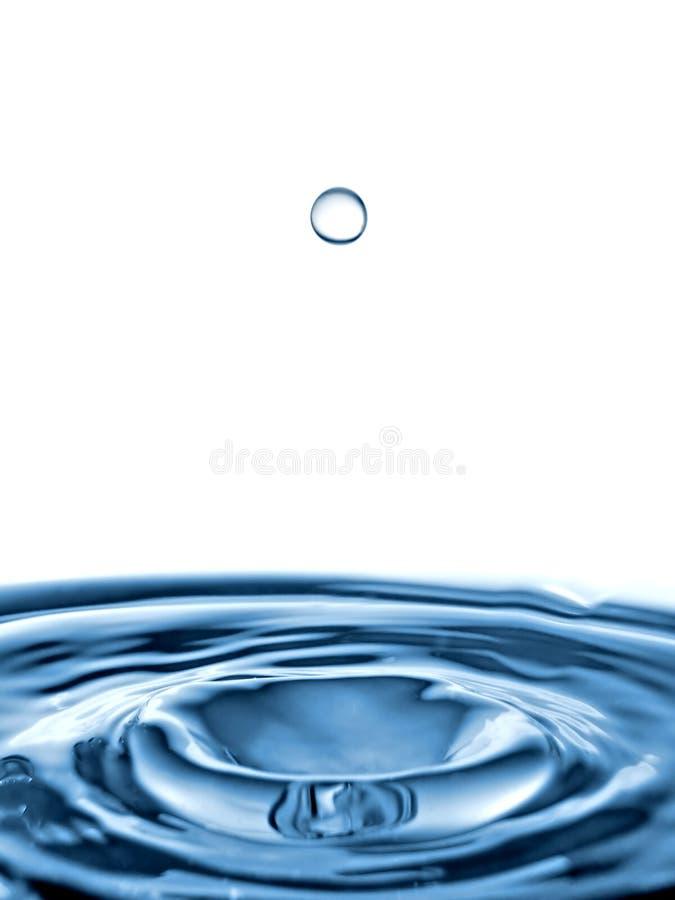 01 kroplę wody obrazy stock