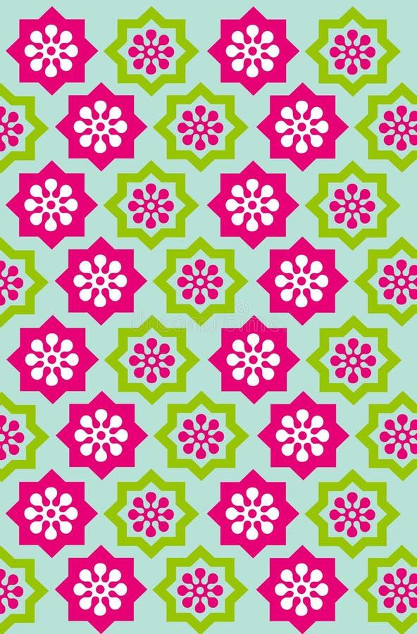 01 kwiat tła royalty ilustracja