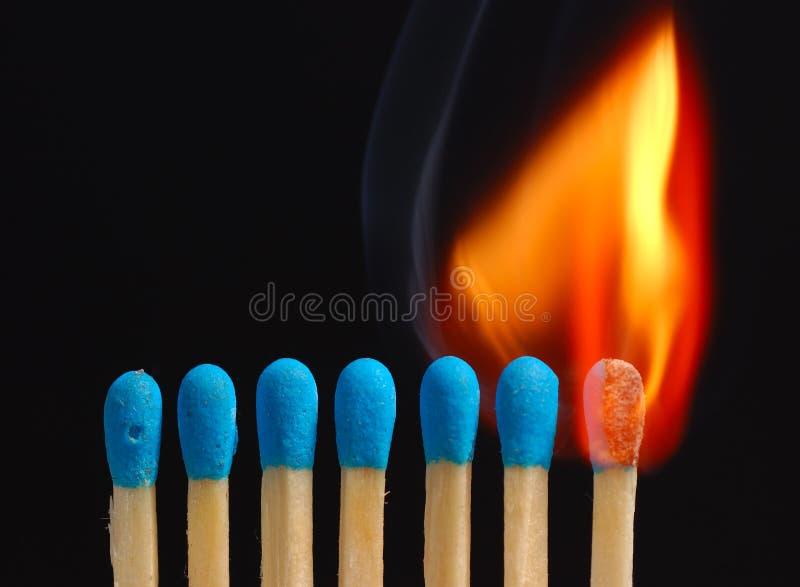 01 ogień zdjęcie stock