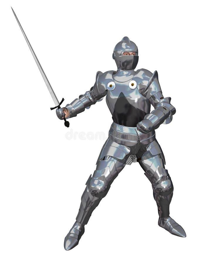 01 rycerski miecz ilustracja wektor