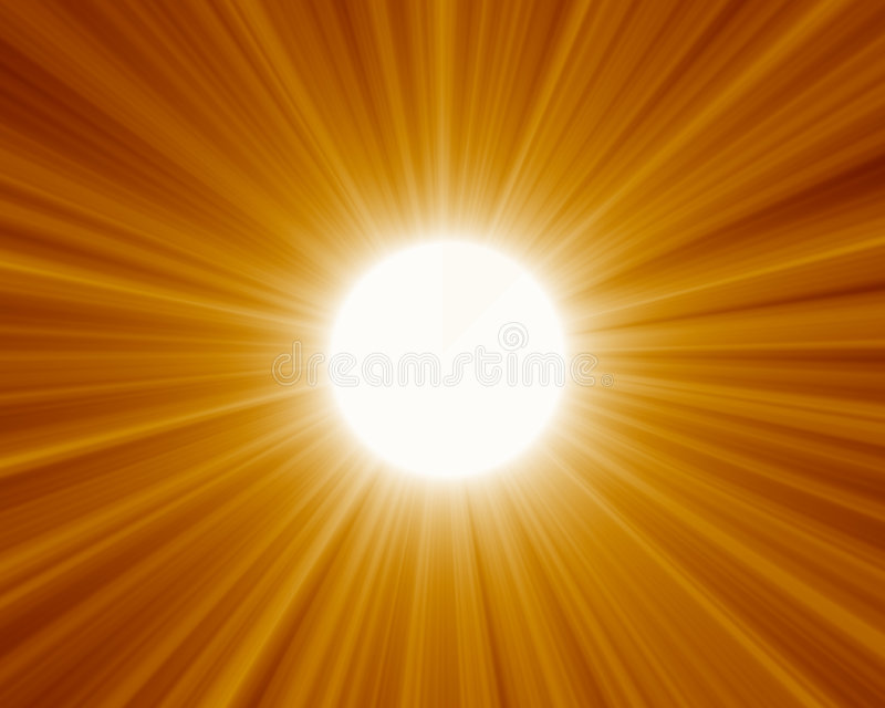 01 słońce royalty ilustracja