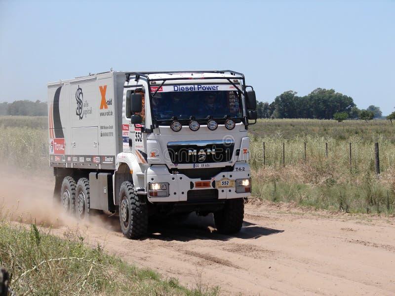 011 Аргентина dakar стоковое изображение