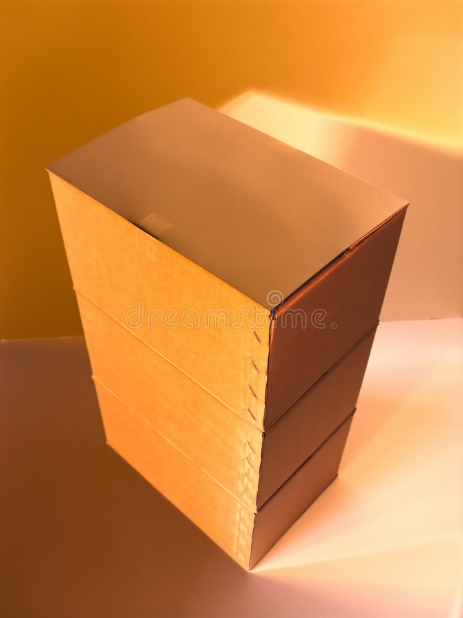 Download 0111box stock image. Image of staple, shadow, brown, boxes - 674491