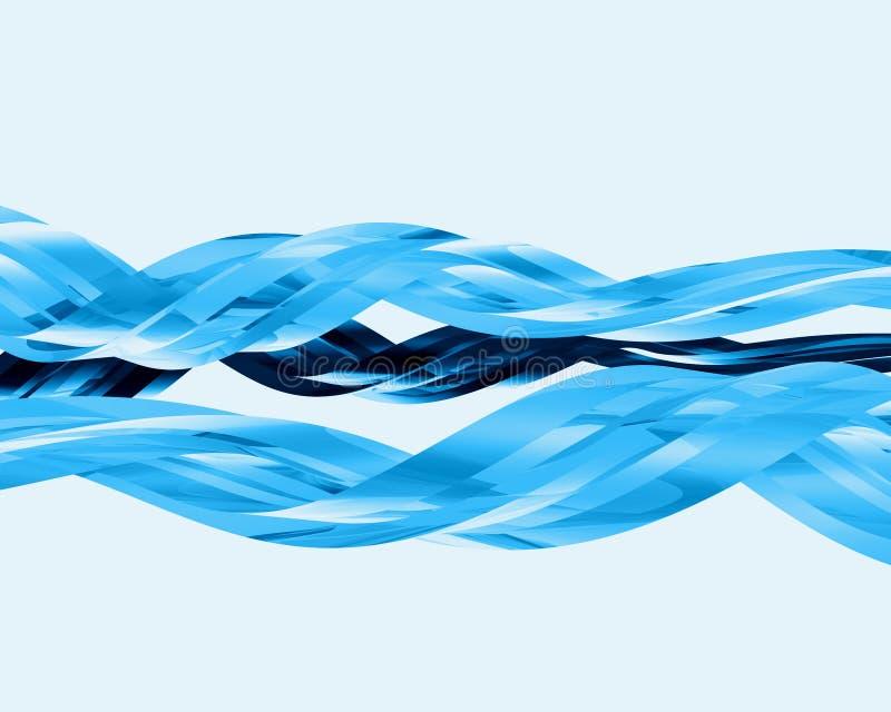 013 glass abstrakt element royaltyfri illustrationer