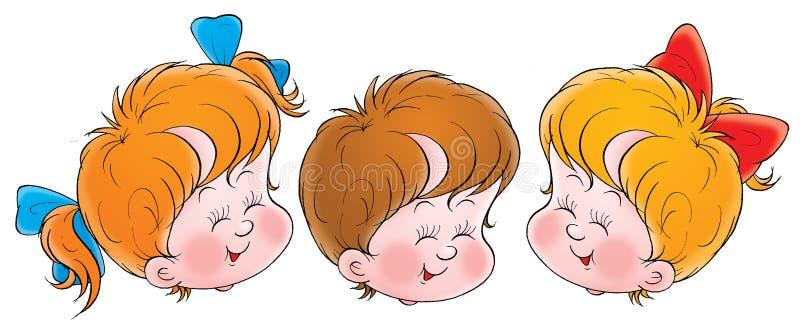 015 dzieciństwo royalty ilustracja